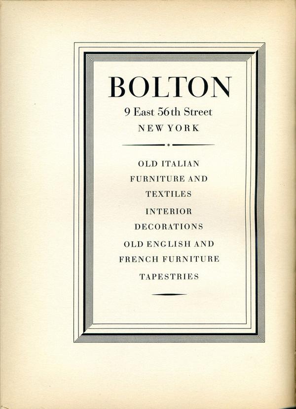 A vintage Bauer Bodoni type specimen. #type #specimen #typography