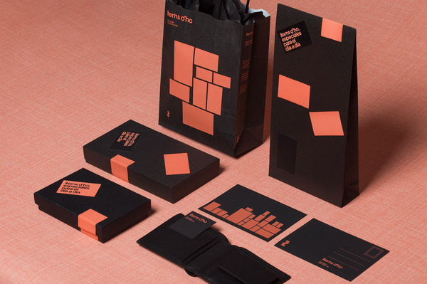 Mucho Items d'Ho #post #card #print #identity #bag