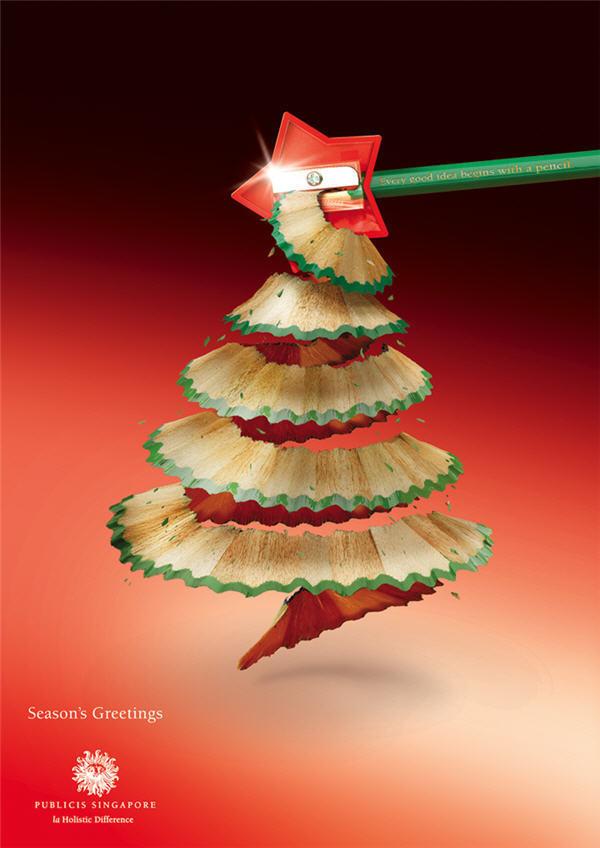 Season's greatings #christmas #creative #advertisements