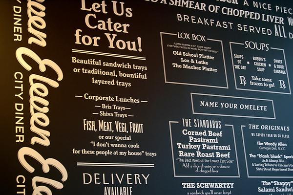 Eleven City Diner #menu