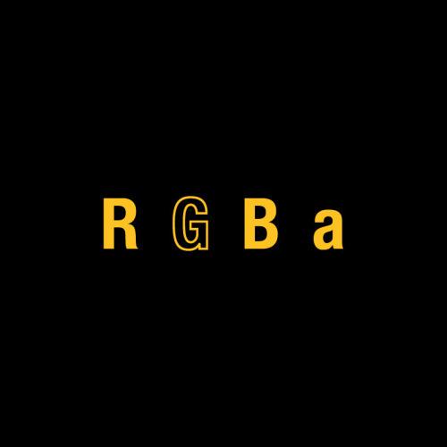 RGBa Awards from The Award Winning Game #parody #logo #design #4colours