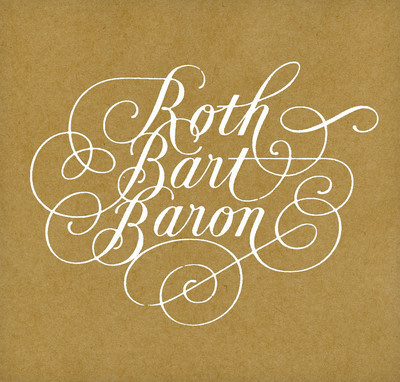 Roth Bart Baron #album #design #graphic #cover #caligraphy #typography