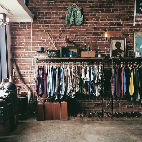 Statigram – Instagram webviewer #brick #shop #clothing #rack