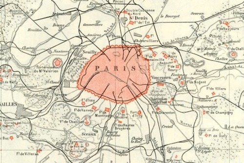 Sara Lindholm #paris #map