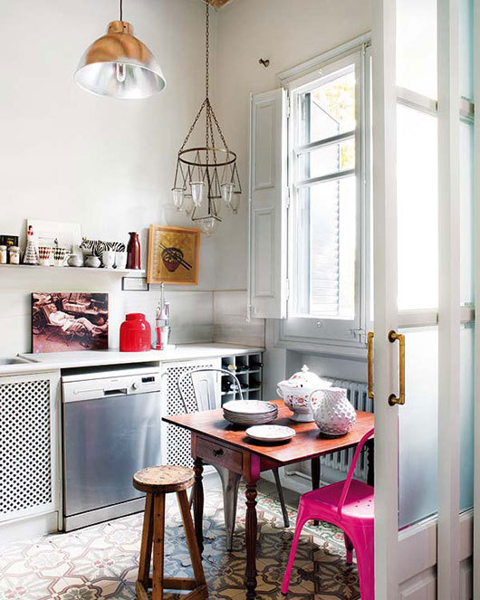 kitchen nook #interior #design #decor #kitchen #deco #decoration