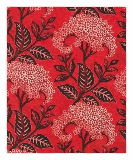 coqueterías - RUSSIAN TEXTILES «Diario de una Couturier #red #pattern #russian #floral #textile