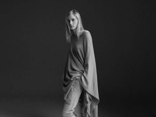 Jac + Jack Winter 2011 Campaign | Julia Nobis by Stephen Ward #photography #white #black #and