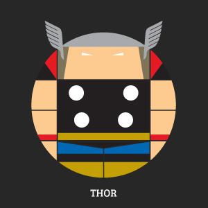 Projekt Sirkols #thor #circles #hero #avengers #marvel #sknny