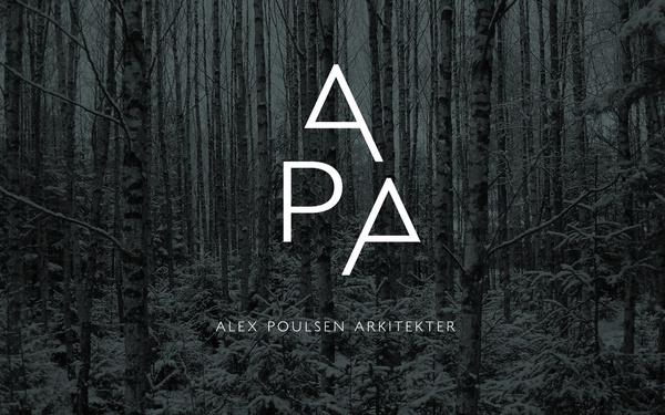 Alex Poulsen Architects on Behance #architects #logo #forest #dark #trees