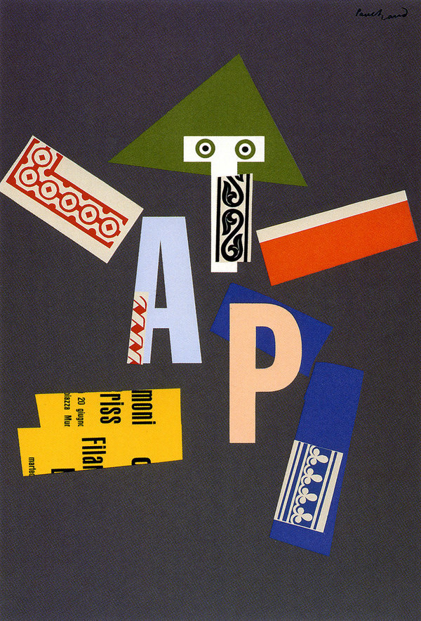 Posters | Paul Rand, American Modernist (1914 1996) #graphic design #paul rand