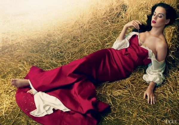 Katy Perry by Annie Leibovitz #fashion #photography #inspiration