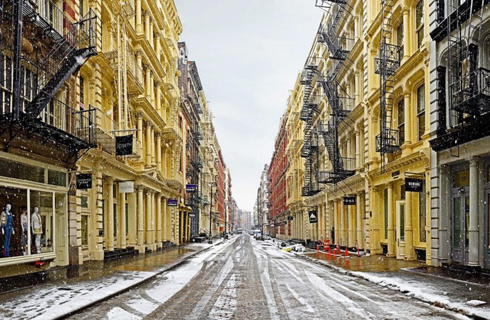 Elevations & Avenues: Aesthetic New York Streetscapes by Matt Petosa