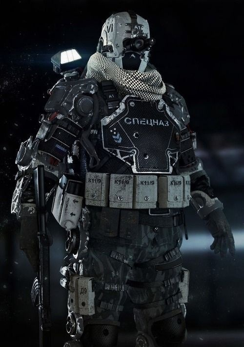 OTAKU GANGSTA #armor #army #weaponry #exoskeleton #future