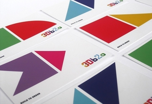 3Db2o ® · Brand Identity & Collateral Design on the Behance Network #yoyo #design #graphic #corporate #identity #cards