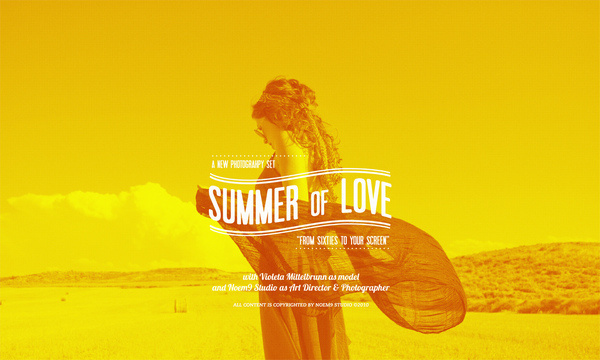 Summer of Love #photography #photoshop #typography