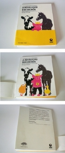 animal farm - george orwell 2 | Flickr - Photo Sharing! #crown #horse #design #book #cow #pig #cover #duck #chicken #farm #orwell #animal