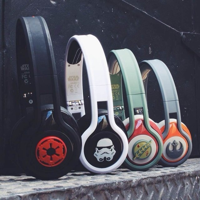 Star Wars First Edition STREET by 50 On-Ear Headphones #tech #flow #gadget #gift #ideas #cool