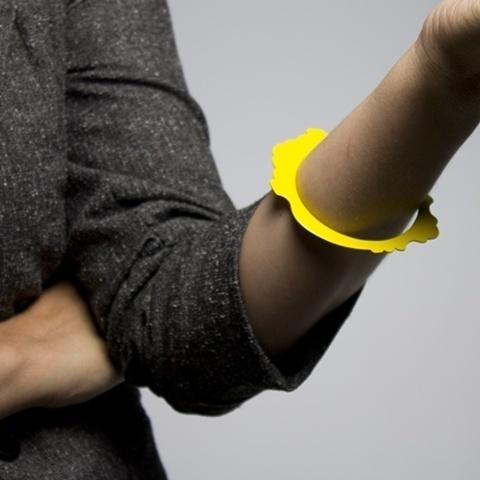 Ashley Buchanan Jewelry #yellow #bracelet