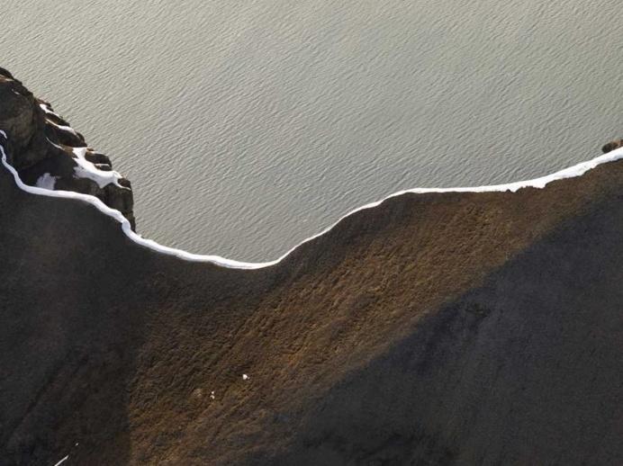 Ridge Over Isfjorden, Norway