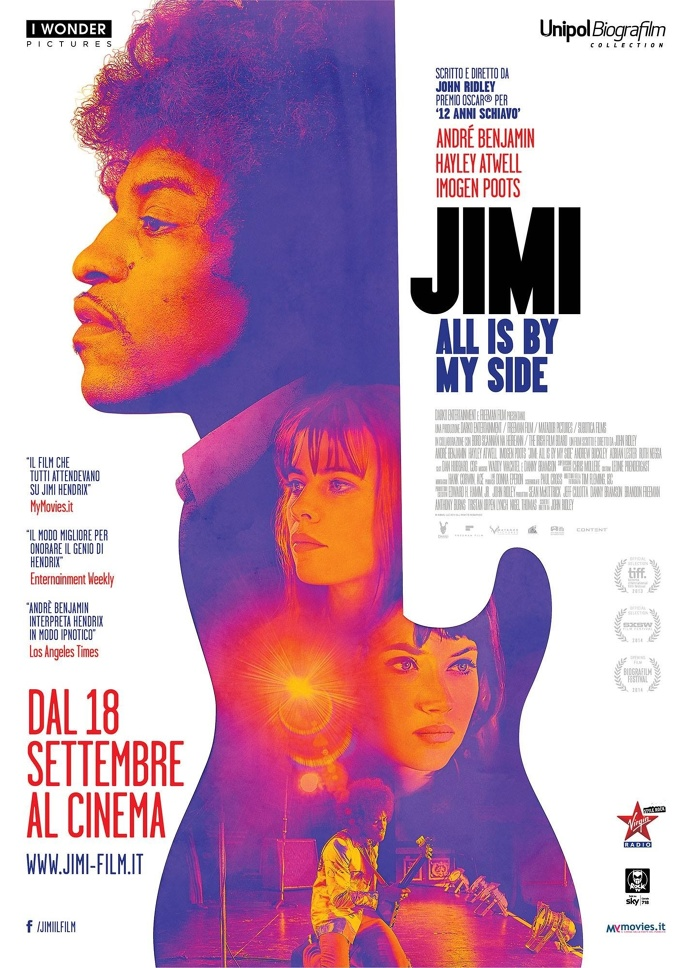 jimi hendrix Jimi: All Is by My Side (2014) #movie #poster #cinema
