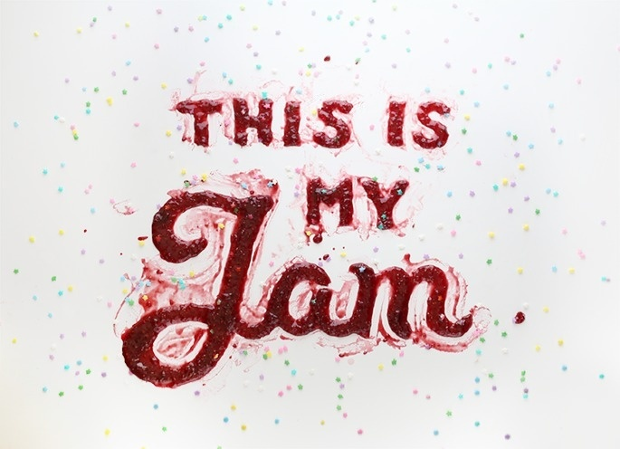 Danielle Evans #food #typography