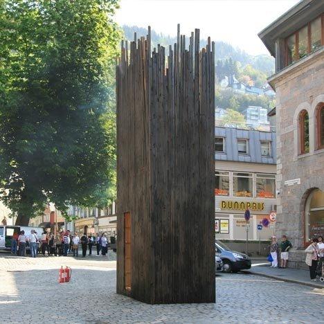 The Bergen Safe House #pavilion #architecture