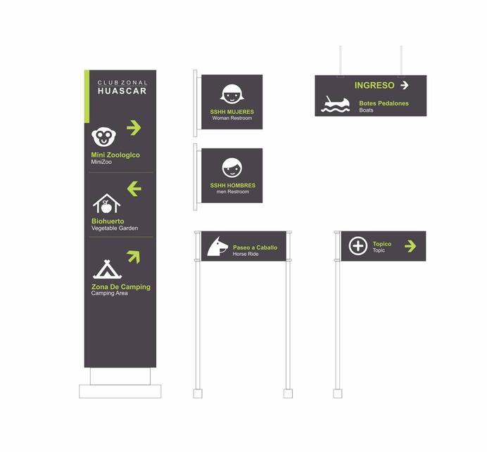 Wayfinding | Signage | Sign | Design | 动物园导视设计