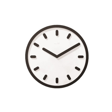 Tempo wall clock | Magis | Shop #white #black #product #and #clock