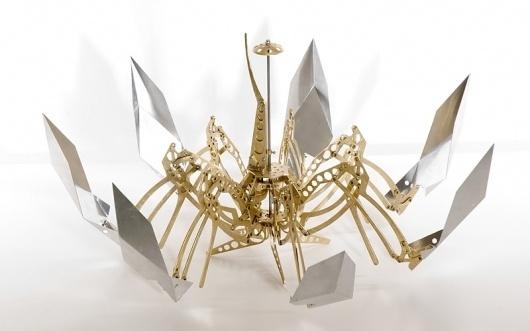 TEKAMI - Kinetic Sculpture #sculpture #trond #art #mikkelsen #kinetic