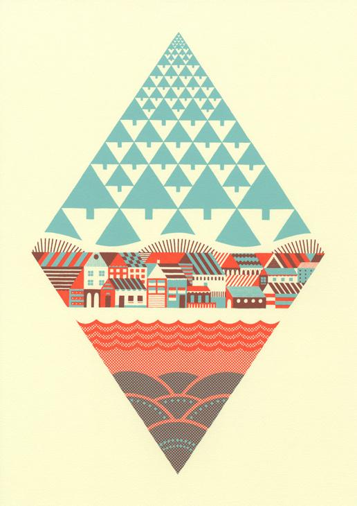 Waterfrontier | Andrew Holder #illustration