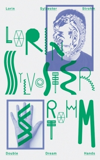 HelloMe — Lorin Sylvester Strohm #type #experimental #poster