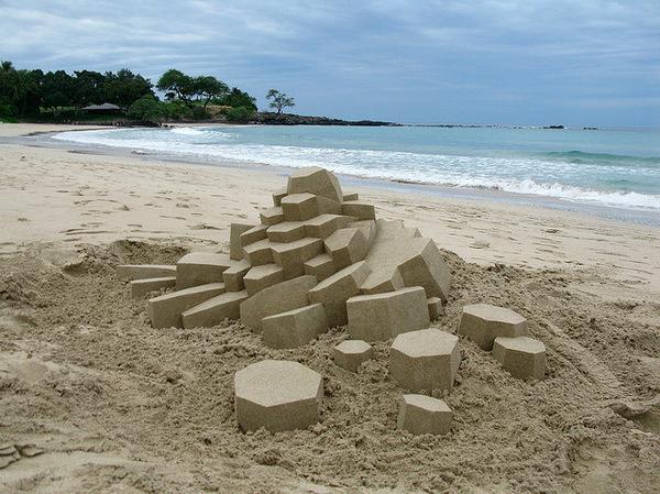 Geometric Sandcastles5 #sandcastle