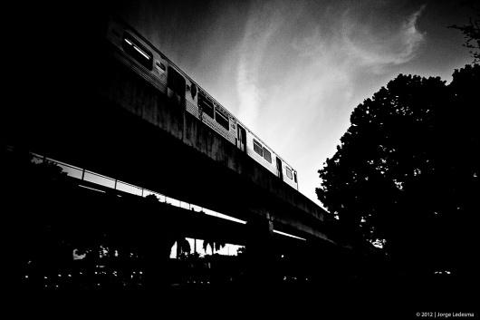 The Decisive Moment #train