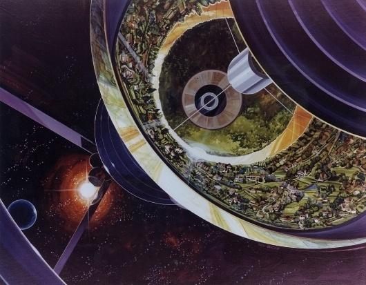 AC76-1089f.jpeg (JPEG Image, 1049x818 pixels) #print #vintage #space #station