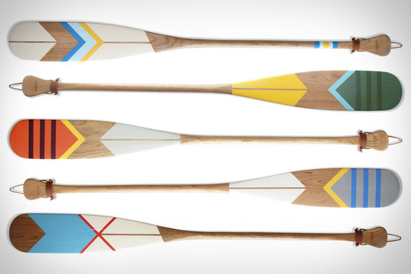 Norquay Canoe Paddles #paint #pattern #color #paddles #wooden