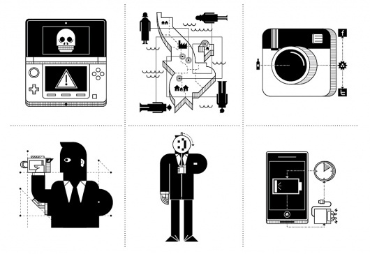 All sizes | WIRED - No Problem | Flickr - Photo Sharing! #nintendo #instagram #vectorial #3ds #illustration #muzzi #wired #editorial #francesco