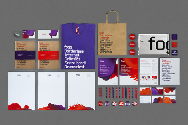 Bunch — Fogg #business #card #print #tshirt #head #letter #stationery