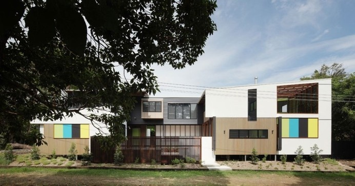Playfully Eclectic Residence in Queensland, Australia: Mooloomba House #architecture