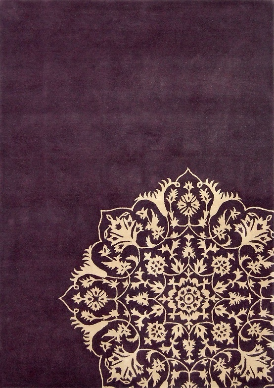 India inspired rug #pattern