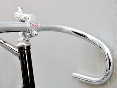 FFFFOUND! | Domenica Sport | Minimalissimo #steel #handlebar #bicycle