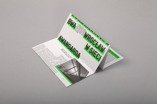 BWA wroclaw #highlight #print #brochure #neon