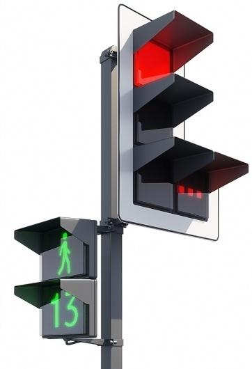 Luxofor design concept #lebedev #luxofor #traffic #art #light