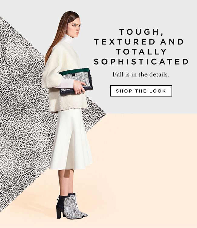 Shop Textured Fall Pieces at The Official Loeffler Randall Online Store LoefflerRandall.com #randall #loeffler #email