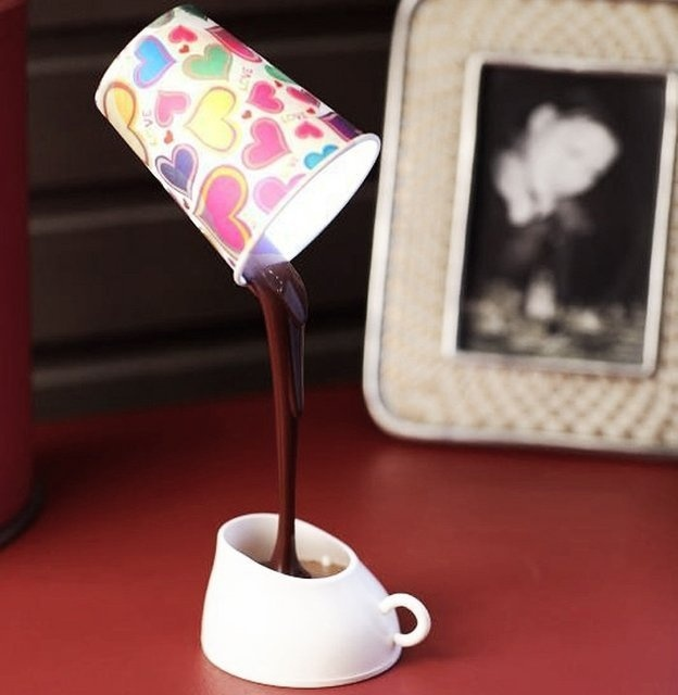 Coffee Cup LED Light Desk Table Lamp #tech #flow #gadget #gift #ideas #cool
