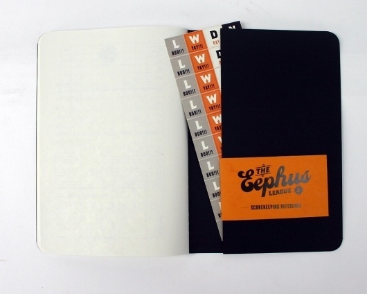 The Eephus League Baseball Scorebook Revival Project by Bethany Heck — Kickstarter