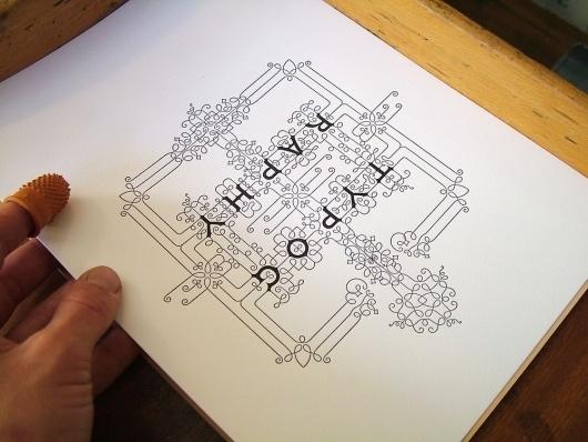 I Love Typography store — Typographic Restraint #typography