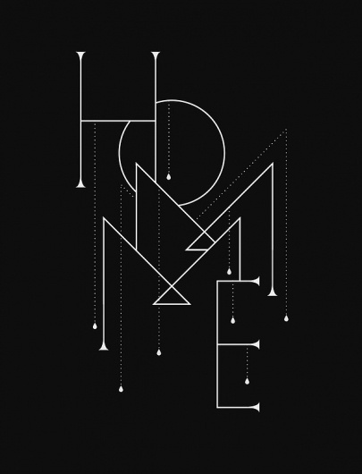 Riot Homme on Typography Served #lettering #typeface #typography