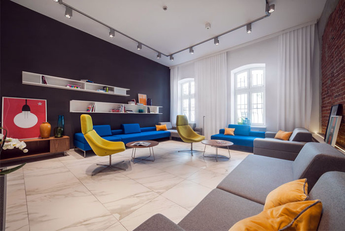 Modern Hotel With Industrial Background - #decor, #interior, #homedecor,