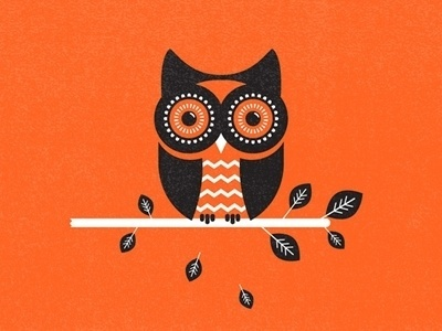 Dribbble - Owl by Zach Graham #illustration #owl #texture