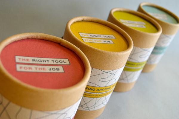 2013 Direct Mailer #elastic #branding #ball #tube #tool #mailer #scribble